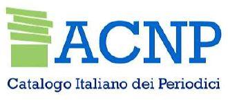 Vai al catalogo dei periodici ACNP