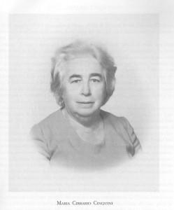 Maria Cibrario Cinquini